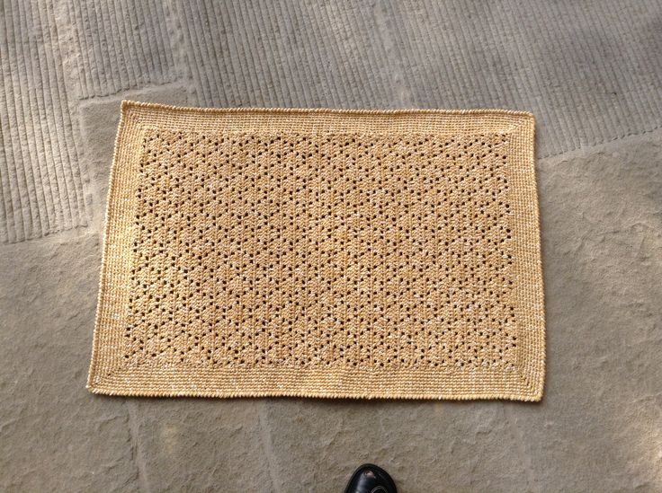 Tappetino crochet