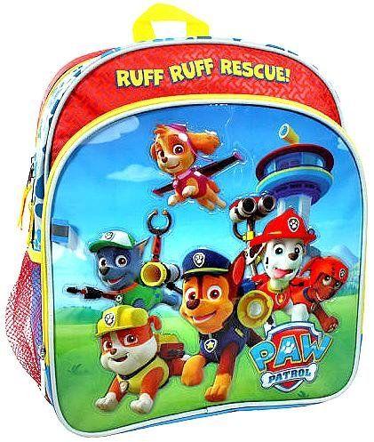 paw patrol ruff ruff rescue backpack paw patrol. Black Bedroom Furniture Sets. Home Design Ideas