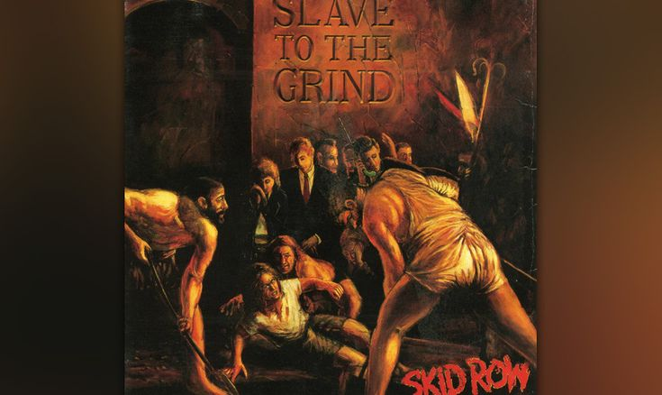 55. Skid Row: 'Slave To The Grind' (1991) Es war kein kleiner Schock, als Skid…