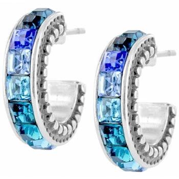 Spectrum Post Hoop Earrings by Brighton New Price: $36.00