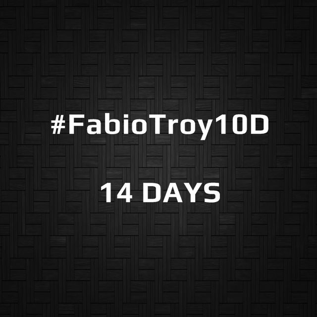 #FabioTroy10D | 14 DAYS | Ilusionado... | Excitement...