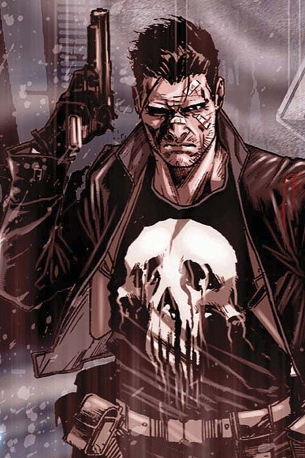 The Punisher by Marco Checcetto ~ Another hero-that-can-also-influence-a-good-villain type of hero...