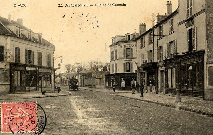 Rue Des Places Saint Germain La Ville