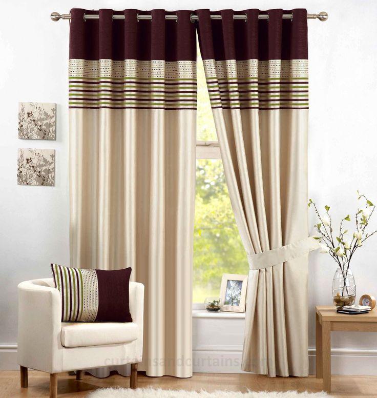 Las 25 mejores ideas sobre cortinas modernas en pinterest - Cortinas para el comedor ...