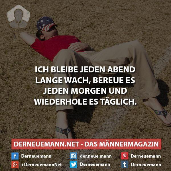 Lange wach #derneuemann #humor #lustig #sprüche #spaß