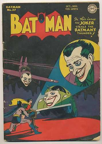 Vintage Batman 37 Golden Age Comic Book DC Comics No Reserve Oct 1946 | eBay
