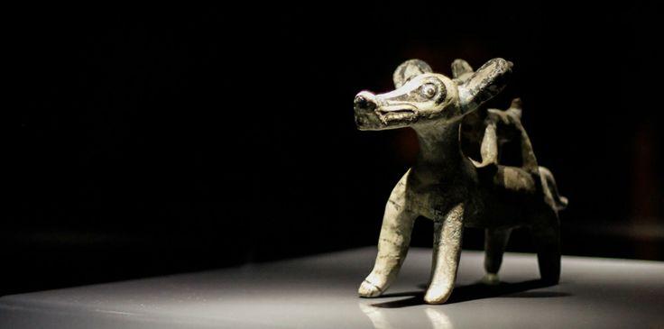 Inauguración de la exposición: 70 años: a través de los tiempos. En el marco de los 70 años del descubrimiento de la ciudad prehispánica de México-Tlatelolco. #CCUTlatelolco Fotografía por: Barry Dominguez