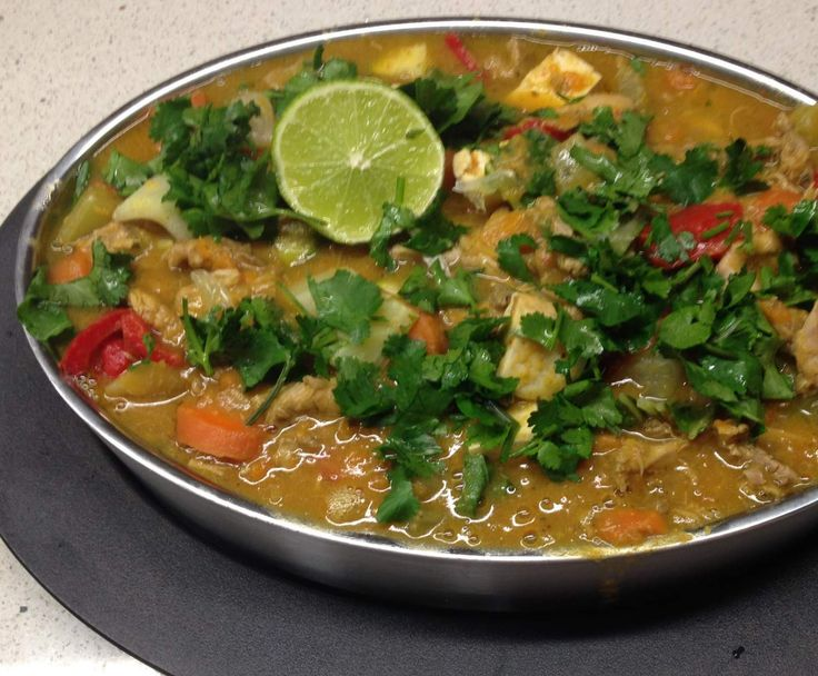 Recipe Chicken & Lots of Veg Laksa by arwen.thermomix - Recipe of category Main dishes - meat