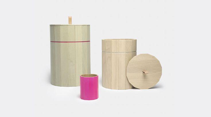 'Colour' bins by Karimoku New Standard