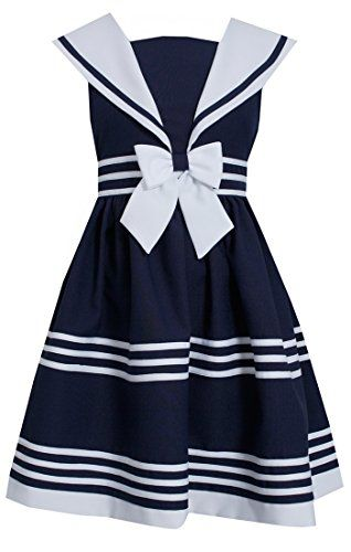 Bonnie Jean Little Girls Sailor Capri Set Navy 18M * Check this awesome product by going to the link at the image.