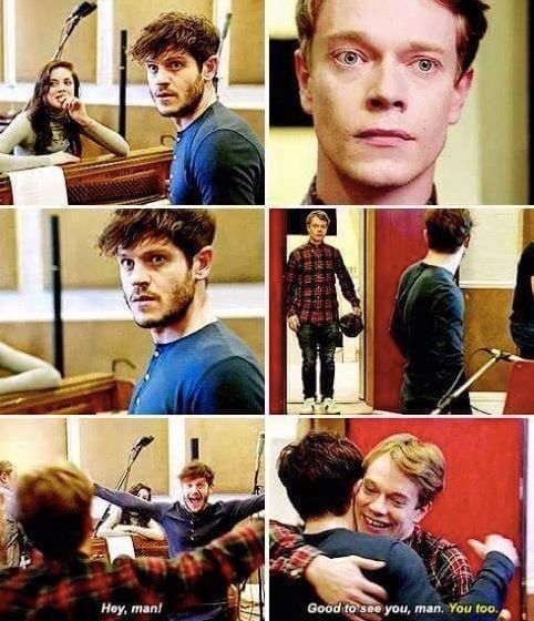 Ramsay Bolton & Theon Greyjoy // Iwan Rheon & Alfie Allan // Game Of Thrones