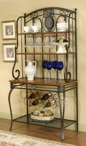 Best 25 Bakers Rack Decorating Ideas On Pinterest