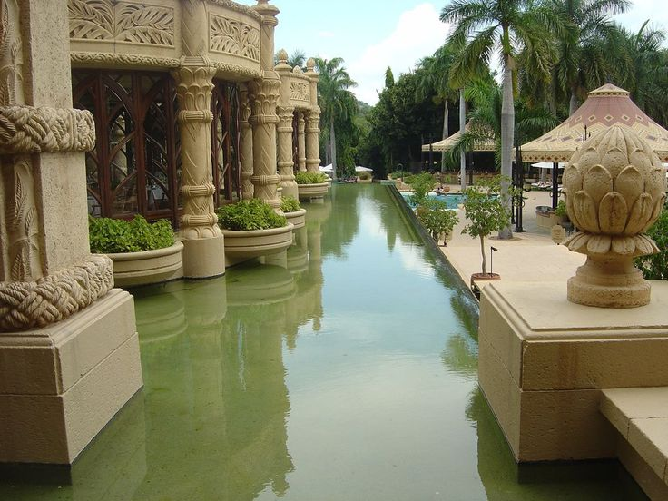 Fairytale African Palace of the Lost City at Sun City