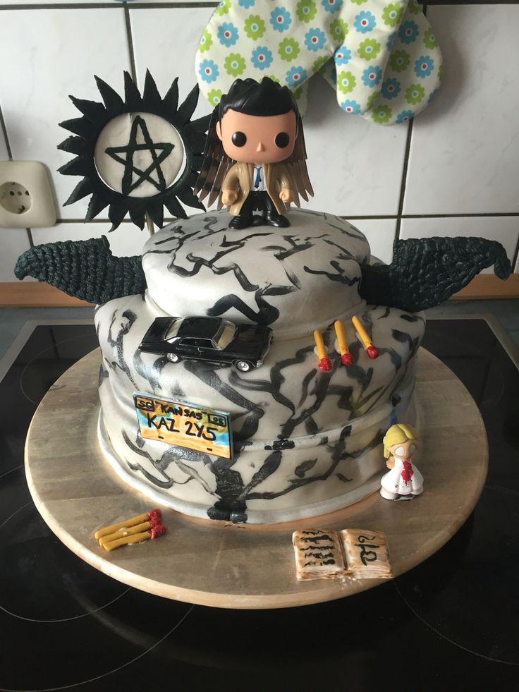 best 25 supernatural birthday cake ideas on pinterest