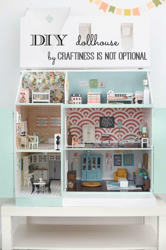 Maison de poupée : l'intérieur