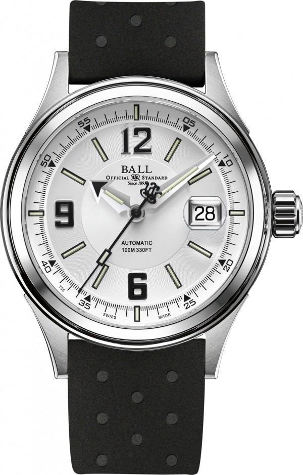 Ball Watch Company Fireman Racer #add-content #bezel-fixed #bracelet-strap-rubber #brand-ball-watch-company #case-depth-11-4mm #case-material-steel #case-width-40mm #date-yes #delivery-timescale-call-us #dial-colour-white #discount-code-allow #gender-mens #luxury #movement-automatic #new-product-yes #official-stockist-for-ball-watch-company-watches #packaging-ball-watch-company-watch-packaging #style-dress #subcat-fireman #supplier-model-no-nm2088c-p2j-whbk…