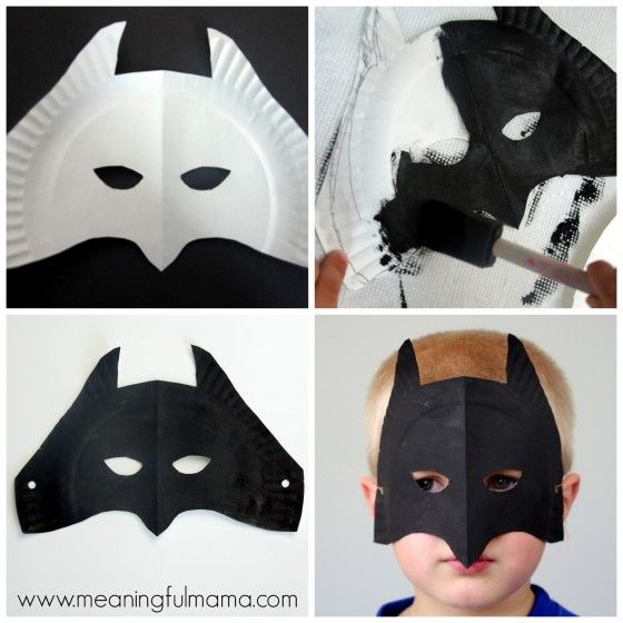 Superhero Paper Plate Masks                                                                                                                                                     More