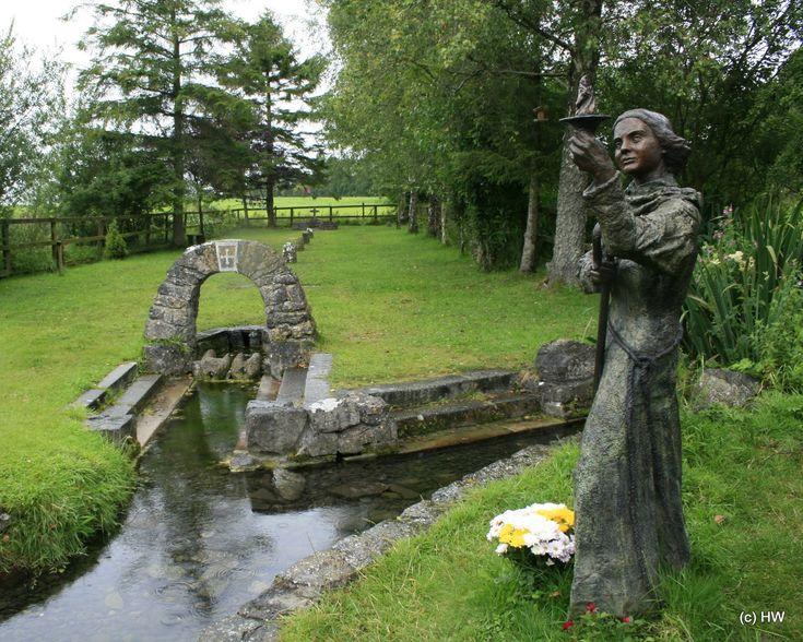 St Brigid's Well Kildare Ireland