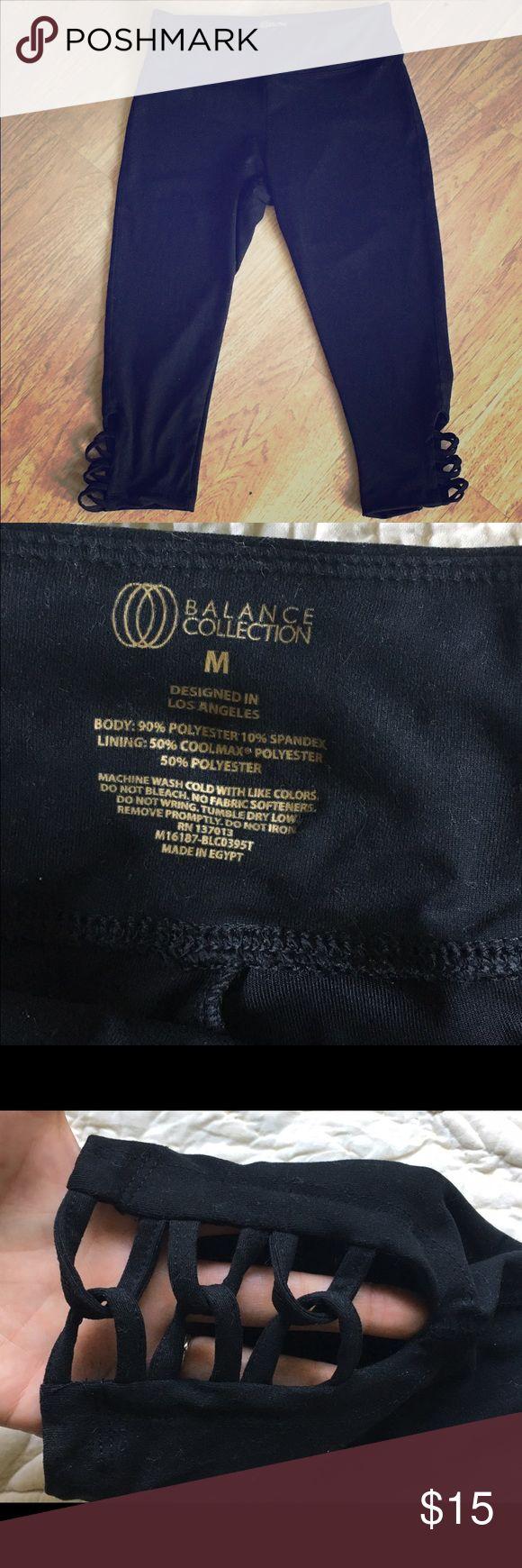 Selling this Balance Collection yoga Capri pants nwot 🌼🖤🌼 on Poshmark! My username is: jilligan30. #shopmycloset #poshmark #fashion #shopping #style #forsale #ballance collection #Pants