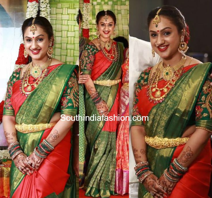 preetha_vijaykumar_kanjeevaram_saree_at_sridevi_baby_shower.jpg 822×767 pixels