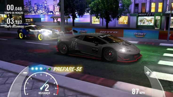 Racing Rivals jogo gratis para android