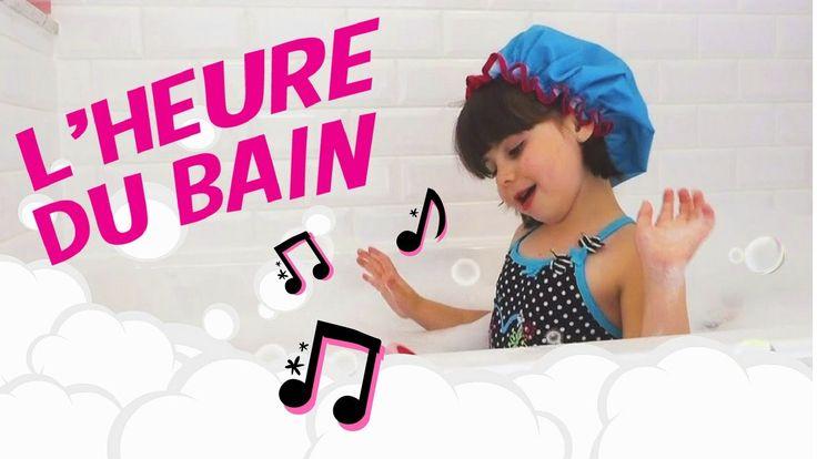 L'heure du bain -  Une chanson qui donnera le goût de prendre son bain! (avec les paroles)