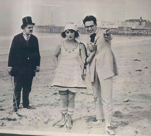 Bebe Daniels and Harold Lloyd  - 1919