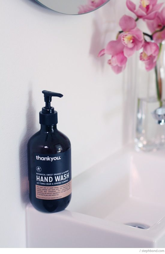 Thankyou ethical hand wash, designed in Australia and providing hygiene training for needy people.