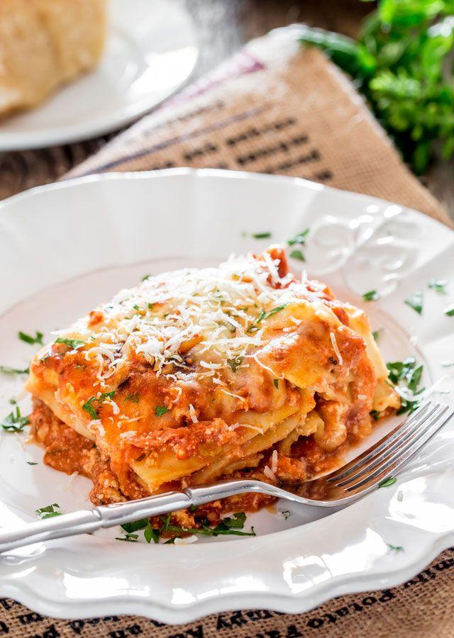 Lasagne Alla Bolognese Recipe — Dishmaps