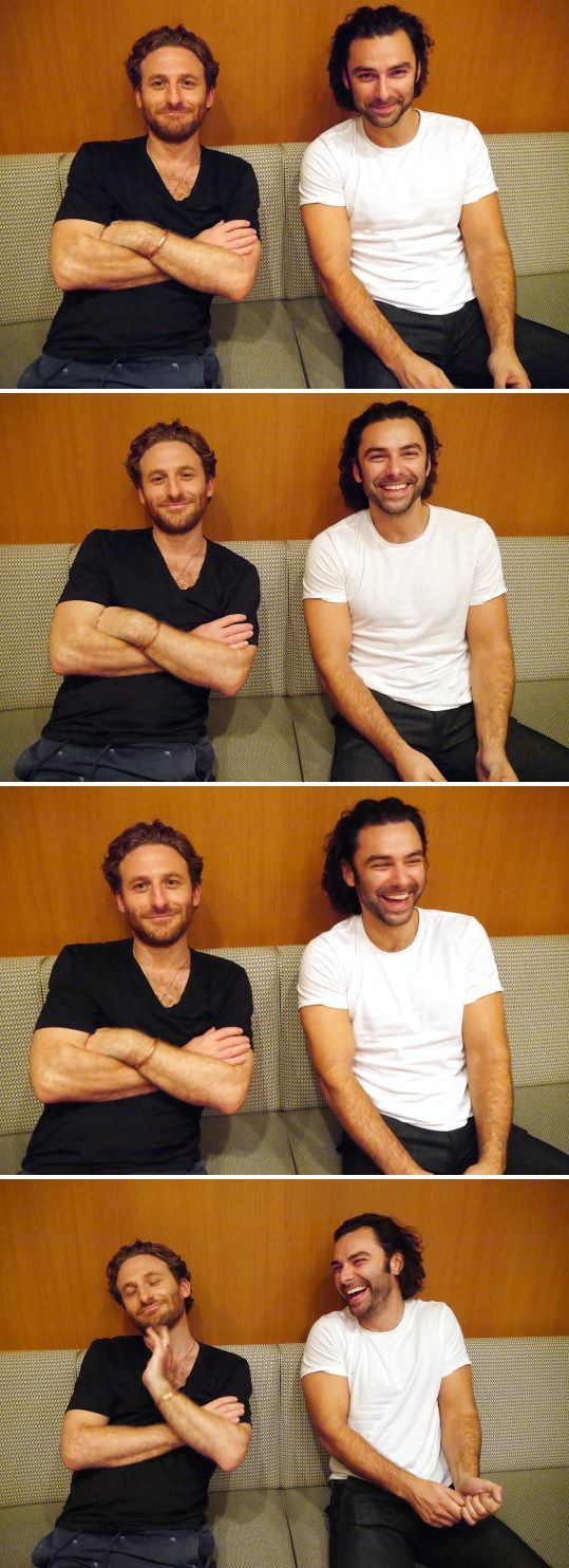 Aidan Turner & Dean O'Gorman finally reunited at Hollycon Tokyo 2016, Japan. Now I can die in peace. I miss the Hobbit times so much.