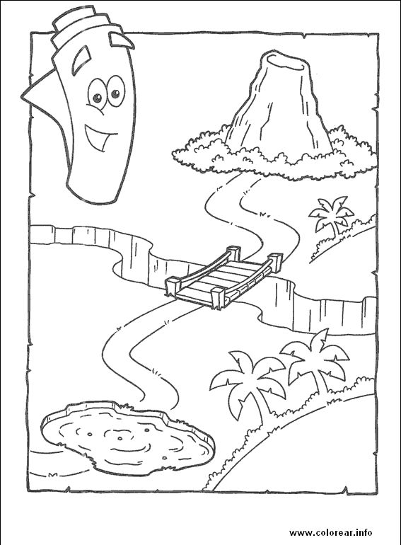 Dora67 dora-the-explorer PRINTABLE COLORING PAGES FOR KIDS.