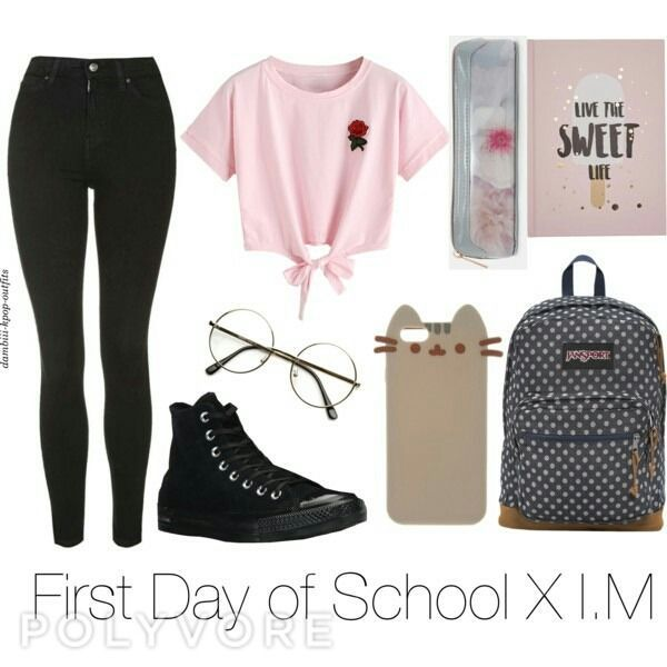 –  – #SchoolOutfits