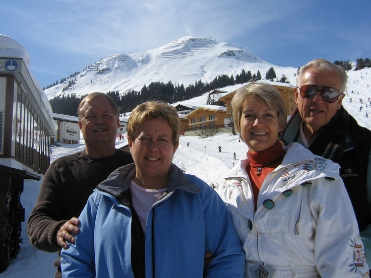 St. Anton heading to lichtenstein over the Alberg pass. I spent my 21st birthday here skiing in a Warner Miller movie.