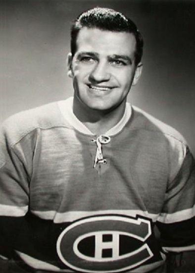 "Hockey Royalty: Bernie ""Boom Boom"" Geoffrion - http://thehockeywriters.com/hockey-royalty-part-two-bernard-boom-boom-geoffrion/"