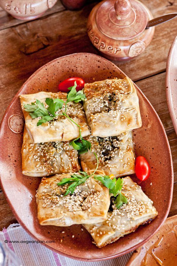 Kalitsounakia Chaniotika .  Comfort food with a character.    the recipe by www.aegeanpan.com