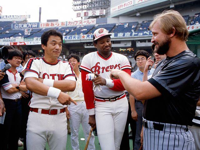 Old but good baseball.