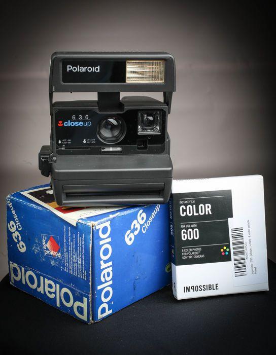 Polaroid 636 Close Up-Instant Camera-POLAROID originaux niet onmogelijk 600 film  vak  Polaroid 636 Close Up-Instant Camera-POLAROID originaux niet onmogelijk 600 film  vak  EUR 1.00  Meer informatie