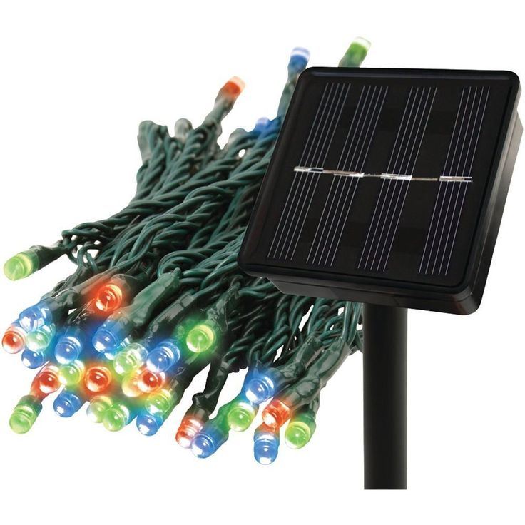 EcoThink 155025 Solar String Multicolor Lights. Flash, twinkle & constant light modes;  Illuminates trees, shrubs & more;  Long-lasting LED bulb technology;  Lights are colored;  Solar powered: recharges with sunlight;  150 lights on 80ft strand;EcoThink 155025 Solar String Multicolor LightsCondition : This item is brand new, unopened and sealed in its original factory box.