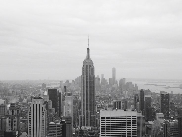 Manhattan as seen from Top of the Rock