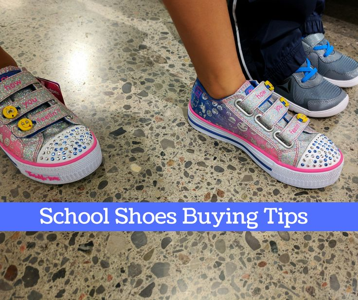tips buying school shoes