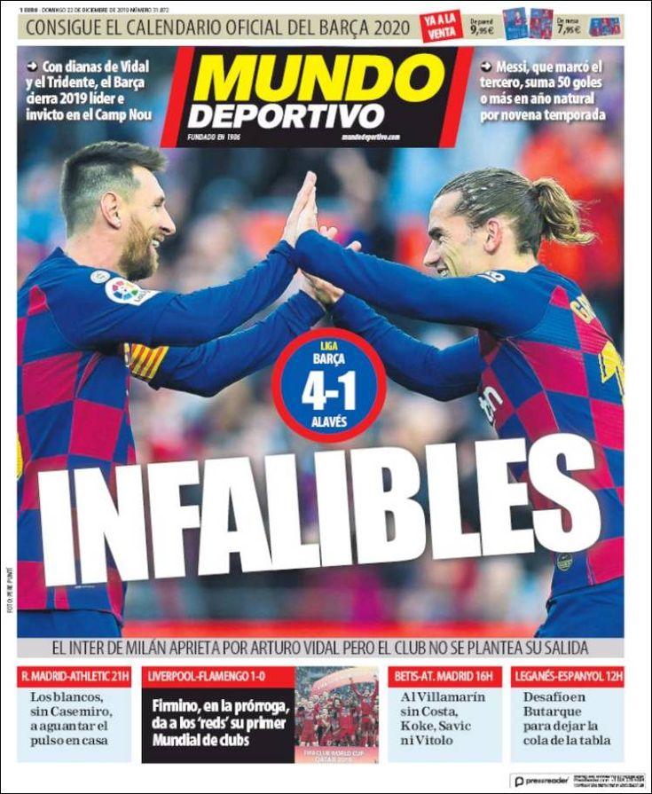 20191222 Periódico El Mundo Deportivo (España