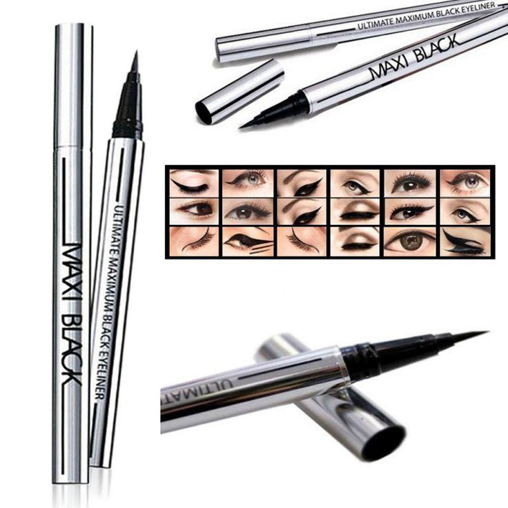 Fashion Waterproof Liquid Eyeliner Long-Lasting Eye Liner Pencil Pen Makeup Hot Sale
