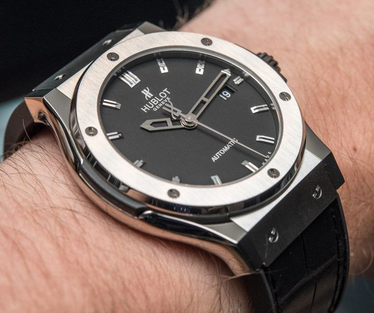 """Cost Of Entry: Hublot Watches - by Bilal Khan - on aBlogtoWatch.com """"Welcome to the third installment in our Cost of Entry series, where we go hands-on with the most affordable, entry-level watches from leading luxury watch brands to see what you get for your money when 'entering a brand.' In our first article, we looked at Rolex and the Oyster Perpetual, followed by the Panerai Luminor PAM000 Base Logo watch. Now it's time to see what the most affordable Hublot has to offer..."""""""