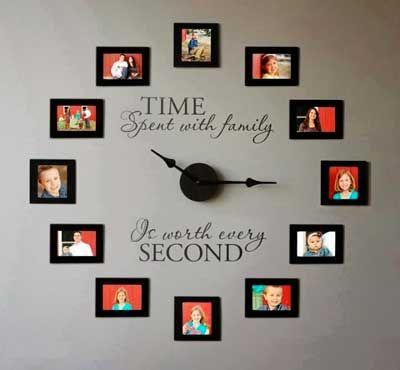 5 buenas ideas para mostrar las fotografías familiares en casa.   Mil Ideas de Decoración