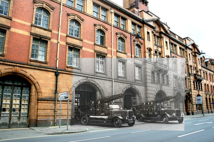 LONDON ROAD FIRE STATION, MANCHESTER 1903.