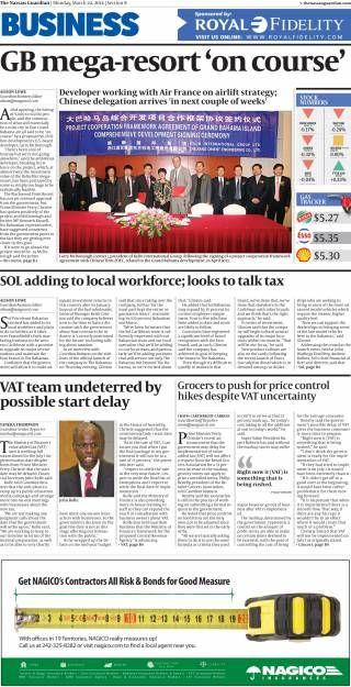 freeport news nassau guardian