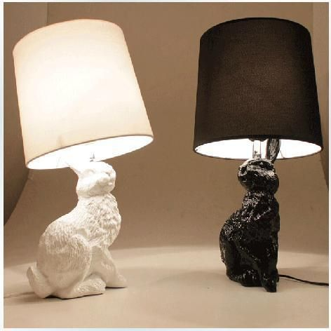 17 best images about the poetry of material things on for Lampe de chevet lapin
