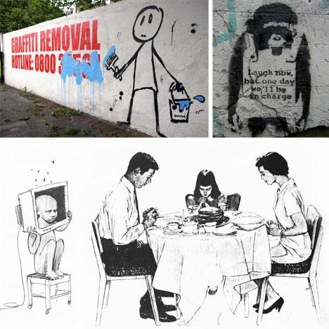 Banksy, Banksy, Banksy...