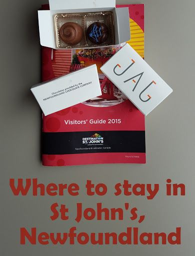 Where to stay in St John's, Newfoundland