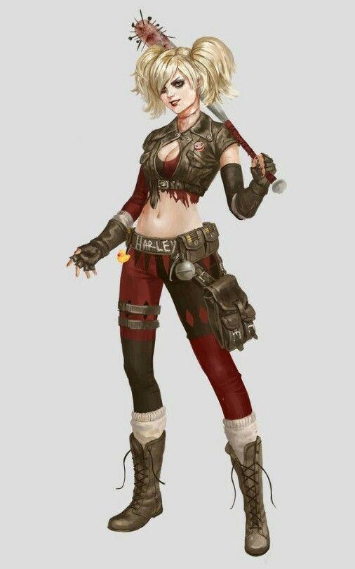 Alternative Harley costume